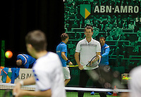 13-02-14, Netherlands,Rotterdam,Ahoy, ABNAMROWTT, Clinic with Sjeng Schalken<br /> Photo:Tennisimages/Henk Koster