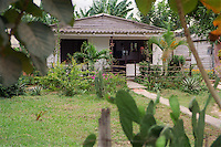 House for family living on a cooperative farm near Pinar del Rio; Cuba,