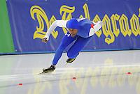 SCHAATSEN: BERLIJN: Sportforum Berlin, 05-12-2014, ISU World Cup, Shani Davis (USA), ©foto Martin de Jong