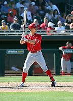 Stuart Fairchild - Cincinnati Reds 2020 spring training (Bill Mitchell)