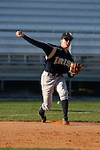 February 26, 2010:  Third Baseman Adam Norton (1) of the Notre Dame Fighting Irish during the Big East/Big 10 Challenge at Jack Russell Stadium in Clearwater, FL.  Photo By Mike Janes/Four Seam Images