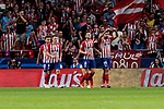 Atletico de Madrid's Diego Costa calls for change during UEFA Champions League match between Atletico de Madrid and Club Brugge at Wanda Metropolitano Stadium in Madrid, Spain. October 03, 2018. (ALTERPHOTOS/A. Perez Meca)