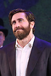 Jake Gyllenhaal during the opening night performance curtain call bows for 'Sunday in the Park with George' at the Hudson Theatre on February 23, 2017 in New York City.
