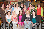HEN PARTY: Eda Fitzgerald, Brosna (seated centre), enjoying her hen party in Kirby's Brogue Inn, Rock Street, on Saturday night with her family and friends. Seated l-r: Bernie Curtin, Trisha, Eda and Catherine Fitzgerald with Marie Ford. Back l-r: Catherine Cahill, Marie Lyons, Nicola Hynes, Ann Rogers, Peggy Fitzgerald, Noreen Walsh, Ann Boland, Kathleen Ahern, Miriam Kingston and Sheila Ahern. Copyright Kerry's Eye 2008