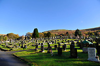 2018 11 01 Treorchy Cemetery in south Wales, UK.