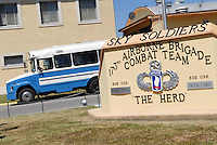 - Camp Ederle US Army base, headquarters of 173th Airborne Brigade....- base US Army di caserma Ederle, sede della 173a Brigata Aerotrasportata