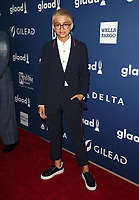 13 April 2018 - Beverly Hills, California - J.J. Totah. 29th Annual GLAAD Media Awards at The Beverly Hilton Hotel. Photo Credit: F. Sadou/AdMedia