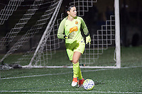 Allston, MA - Saturday Sept. 24, 2016: Sabrina D'Angelo during a regular season National Women's Soccer League (NWSL) match between the Boston Breakers and the Western New York Flash at Jordan Field.