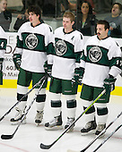 Sean Foley (Plymouth State - 16), Andrew Stewart (Plymouth State - 15), Seth Phelan (Plymouth State - 17) - The visiting Salem State University Vikings defeated the Plymouth State University Panthers 5-2 on Thursday, November 18, 2010, at Hanaway Rink in Plymouth, New Hampshire.