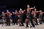 """07.12.2019,  GER; Tanzen, WDSF Weltmeisterschaft der Lateinformationen, Vorrunde, im Bild Vera Tyumen Latin Team (RUS) mit dem Thema """"Open the door please"""" Foto © nordphoto / Witke *** Local Caption ***"""