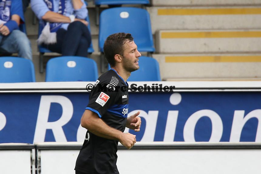 Torjubel Edmond Kapllani (FSV) beim 1:1 - FSV Frankfurt vs. VfL Bochum, Frankfurter Volksbank Stadion