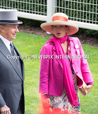 19.06.2014;Ascot, England: ROYAL ASCOT 2014 LADIES DAY - THE AGA KHAN AND DAUGHTER PRINCESSES ZAHRA<br /> The Queen, Duke of Edinburgh, Princes Andrew and Harry Prince Harry, Princesses Anne, Eugenie and Beatrice in attendance on the Ladies Day of the 4-day Royal Ascot Race Meeting.<br /> Mandatory Photo Credit: &copy;Francis Dias/NEWSPIX INTERNATIONAL<br /> <br /> **ALL FEES PAYABLE TO: &quot;NEWSPIX INTERNATIONAL&quot;**<br /> <br /> PHOTO CREDIT MANDATORY!!: NEWSPIX INTERNATIONAL(Failure to credit will incur a surcharge of 100% of reproduction fees)<br /> <br /> IMMEDIATE CONFIRMATION OF USAGE REQUIRED:<br /> Newspix International, 31 Chinnery Hill, Bishop's Stortford, ENGLAND CM23 3PS<br /> Tel:+441279 324672  ; Fax: +441279656877<br /> Mobile:  0777568 1153<br /> e-mail: info@newspixinternational.co.uk