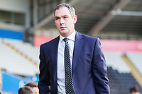 Swansea City manager Paul Clement arrives at Liberty Stadium prior to kick off of the Premier League match between Swansea City and Bournemouth at the Liberty Stadium, Swansea, Wales, UK. Saturday 25 November 2017