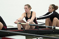 REDWOOD SHORES, CA - JANUARY 2002:  Jenny McColloch of the Stanford Cardinal during practice in January 2002 in Redwood Shores, California.
