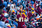Redskins fans at Fed ex field