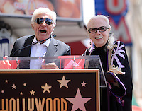 Barbara Bain + Dick Van Dyke @ her Walk of Fame ceremony held @ 6767 Hollywood blvd.<br /> April 28, 2016