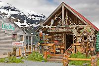 Gift shop in Whittier, Alaska