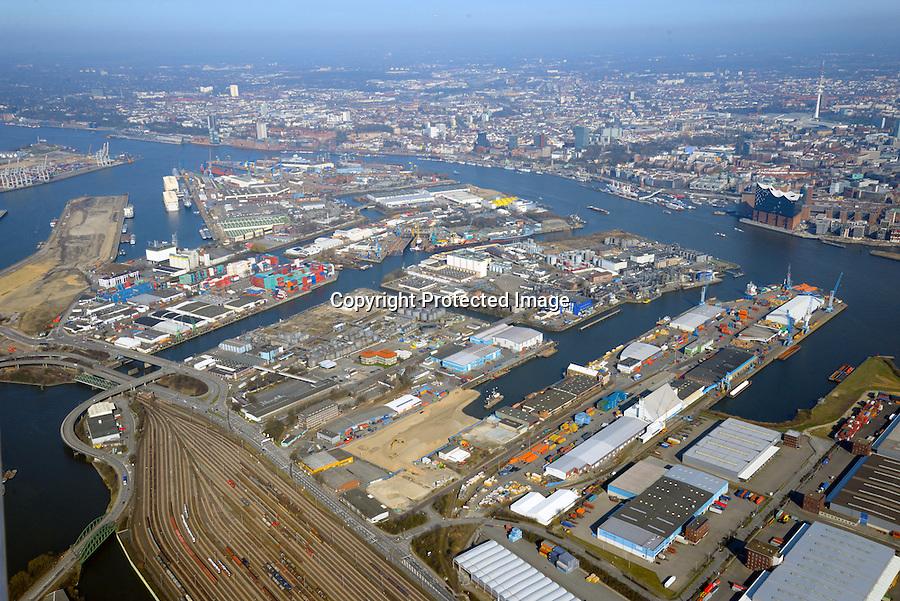 Steinwerder Hafen: EUROPA, DEUTSCHLAND, HAMBURG 2.04.2016 Steinwerder Hafen