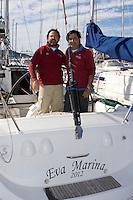 Eva Marina .XXIII Edición de la Regata de Invierno 200 millas a 2 - 6 al 8 de Marzo de 2009, Club Náutico de Altea, Altea, Alicante, España