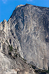 """Regular Route"" Half Dome Yosemite National Park, California.  A close up of the ""Regular Route"" which is the name of first climbing route up the face of Half Dome.  The first time I climbed this route my partner and I spent two nights on the route and three days to climb it.  I came back ten years later and climbed it in 17 hours. During the Summer months when your on top you can look down the face and see climbers coming up the route regularly."