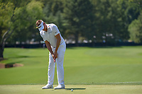 Ian Poulter (GBR) watches his putt on 8 during 3rd round of the 100th PGA Championship at Bellerive Country Club, St. Louis, Missouri. 8/11/2018.<br /> Picture: Golffile | Ken Murray<br /> <br /> All photo usage must carry mandatory copyright credit (&copy; Golffile | Ken Murray)