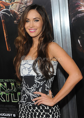 New York, NY- August 6: Megan Fox attends the Teenage Mutant Ninja turtles screening on August 6, 2014 at the AMC in New York. Credit: John Palmer/MediaPunch