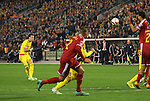 Wales' Gareth Bale fires in a freekick<br /> <br /> - European Qualifier - Belgium vs Wales- Heysel Stadium - Brussels - Belgium - 16th November 2014  - Picture David Klein/Sportimage