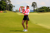 Michelle Wie (USA) winner of the HSBC Women's World Championship 2018 at Sentosa Golf Club on the Sunday 4th March 2018.<br />