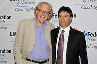 NEW YORK - JULY 12: (L to R) Actor Ronald Guttman and honoree Rick Krim attend the UJA-Federation Music Visionary of the Year Award Luncheon at the Pierre Hotel on July 12, 2012 in New York City. (Photo by MPI81/MediaPunchInc) /*NORTEPHOTO*<br />