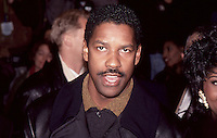 Denzel Washington at Malcolm X Movie<br />