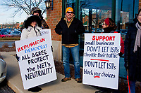 Protest Against Ending Net Neutrality 12-7-17