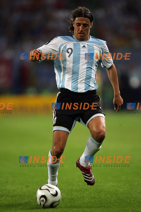 Hamburg 10/6/2006 World Cup 2006.Argentina Cote d'Ivoire - Argentina Costa d'Avorio 2-1.Photo Andrea Staccioli Insidefoto.Hernan Crespo of Argentina