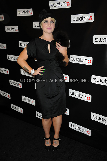 WWW.ACEPIXS.COM . . . . . ....November 12 2009, New York City....Dancing with the Stars' contestant Kelly Osbourne  at the Swatch re-launch at the Swatch Store in Times Square on November 12, 2009 in New York City.....Please byline: KRISTIN CALLAHAN - ACEPIXS.COM.. . . . . . ..Ace Pictures, Inc:  ..(212) 243-8787 or (646) 679 0430..e-mail: picturedesk@acepixs.com..web: http://www.acepixs.com
