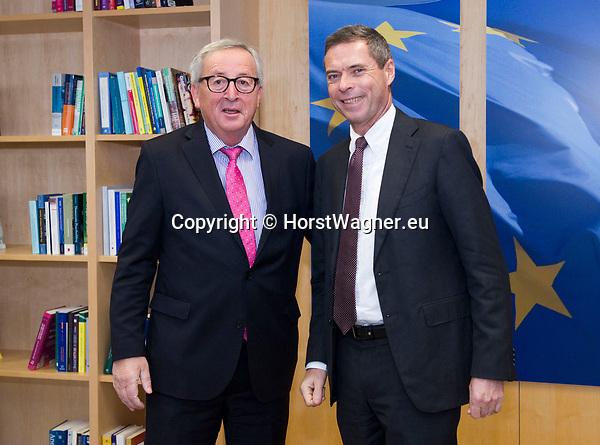 Brussels - Belgium, 20.11.2018 -- Jean-Claude JUNCKER (le), President of the European Commission, receives Ambassador Michael CLAUSS (Clauß)(ri), Permanent Representative of Germany to the EU -- Photo: © HorstWagner.eu