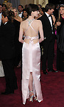 Anne Hathaway arriving at the 85th Academy Awards, held at the Dolby Theater in Los Angeles, CA. February 24, 2013