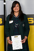 Girls Netball winner Sulu Tone Fitzpatrick from St Cuthbert's College. ASB College Sport Young Sportperson of the Year Awards 2008 held at Eden Park, Auckland, on Thursday November 13th, 2008.