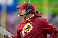 Landover, MD - December 9, 2018: Washington Redskins head coach Jay Gruden on the sidelines during game between the New York Giants and Washington Redskins at FedEx Field in Landover, MD. The Giants defeated the Redskins 40-16 dropping the Redskins to 6-7 on the season. (Photo by Phillip Peters/Media Images International)