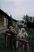 Lohoma, Russia<br /> July, 1998<br /> <br /> Evlampiy (59 years old) and Ziffa (58) Benchin live and work in this small village.