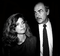 Sean Connery Katherine Ross 1982<br /> Photo By Adam Scull/PHOTOlink.net