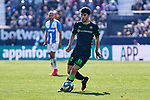 Carles Alena of Betis Balompie during La Liga match between CD Leganes and Real Betis Balompie at Butarque Stadium in Leganes, Spain. February 16, 2020. (ALTERPHOTOS/A. Perez Meca)