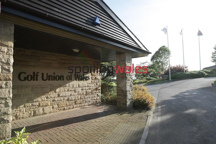 Golf Union Wales HQ..25.08.09.©Steve Pope.Sportingwales.The Manor .Coldra Woods.Newport.South Wales.NP18 1HQ.07798 830089.01633 410450.steve@sportingwales.com.www.fotowales.com.www.sportingwales.com