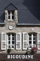 Europe/France/Bretagne/29/Finistère/Pont-l'Abbé: Facade de La crêperie bigoudène