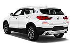 Car pictures of rear three quarter view of 2018 BMW X2 Premiere 5 Door SUV Angular Rear