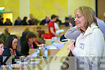 Dr Bridget O'Brien at the North Kerry, West Limerick Election 2011 count at the Brandon Hotel Tralee on Saturday.