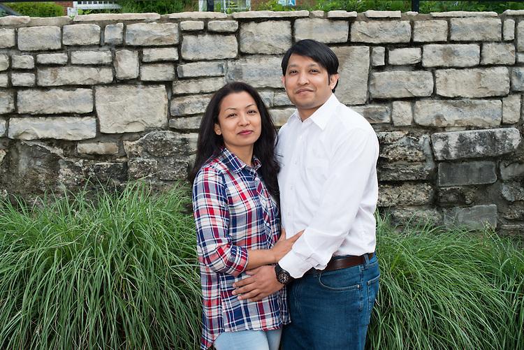 Rabi K.C and Prabha Shrestha., Graduate Student, Math, College of Arts and Sciences
