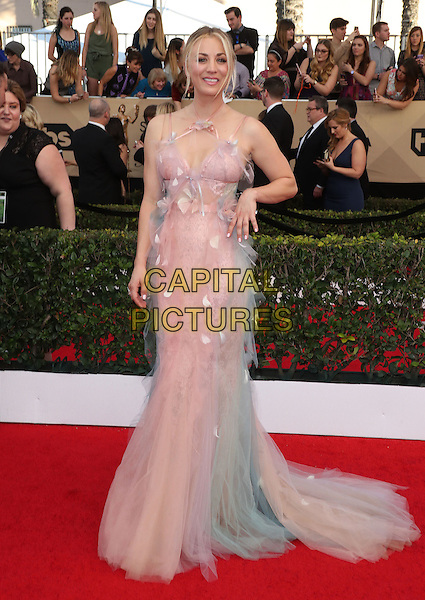 29 January 2017 - Los Angeles, California - Kaley Cuoco. 23rd Annual Screen Actors Guild Awards held at The Shrine Expo Hall. <br /> CAP/ADM/FS<br /> &copy;FS/ADM/Capital Pictures