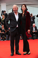 Giuseppe Piccioni and a guest arriveat  the Award Ceremony of the 74th Venice Film Festival at Sala Grande on September 9, 2017 in Venice, Italy. <br /> CAP/GOL<br /> &copy;GOL/Capital Pictures
