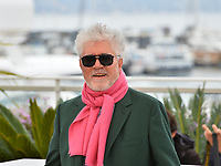 """CANNES, FRANCE. May 18, 2019: Pedro Almodovar at the photocall for the """"Pain and Glory"""" at the 72nd Festival de Cannes.<br /> Picture: Paul Smith / Featureflash"""