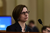 Laura Cooper, Deputy Assistant Secretary of Defense for Russian, Ukrainian, and Eurasian Affairs  listens to the opening statements as she testifies during the US House Permanent Select Committee on Intelligence public hearing as they investigate the impeachment of US President Donald J. Trump on Capitol Hill in Washington, DC on Wednesday, November 20, 2019.<br /> Credit: Ron Sachs / CNP<br /> (RESTRICTION: NO New York or New Jersey Newspapers or newspapers within a 75 mile radius of New York City)