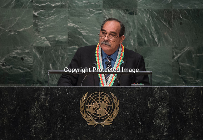 Address by His Excellency Peter Christian, President of the Federated States of Micronesia General Assembly 70th session 22nd plenary meeting<br /> Continuation of the General Debate